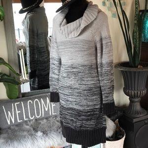 Knit Gray hombre sweater dress
